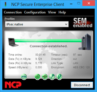 NCP VPN Client Suite for Windows