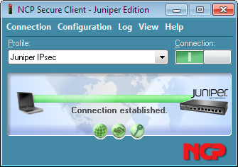 NCP Secure Client – Juniper Edition for Windows 32/64 bit